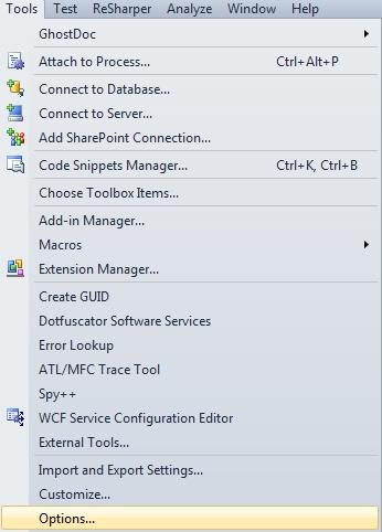 Select Tool - Options