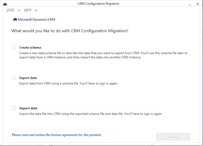 ConfigurationMigrationTool