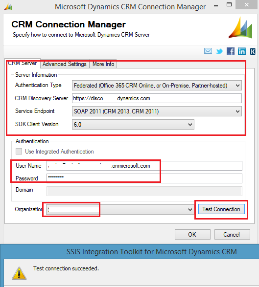 CRMConnectionManager