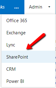 SharePointAdminPage