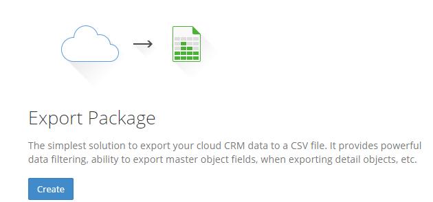 Skyvia-ExportPackage