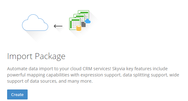 Skyvia-ImportPackages