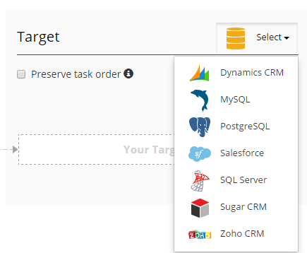 Skyvia-Target