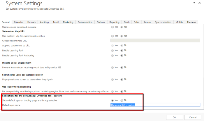Editing Sitemap In Dynamics 365